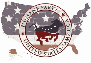 Humane Party | Seal with US Map